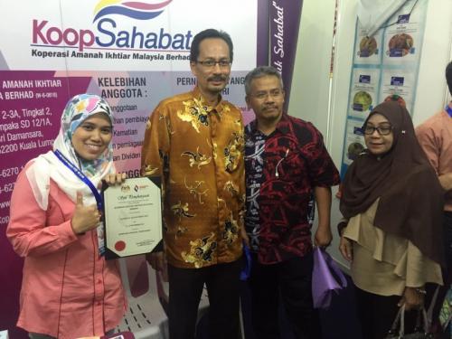 Penyertaan Koop Sahabat di Karnival Mega Sales 2016