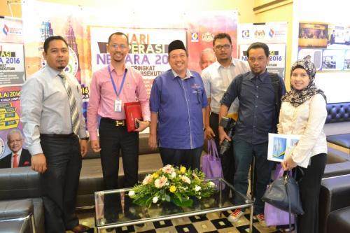 Temubual bersama Utusan Malaysia Sempena Karnival Hari Koperasi Negara 2016
